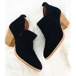 NEW Jeffrey Campbell leather booties - size 7